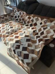 VENDO - Tapete de couro legítimo novo