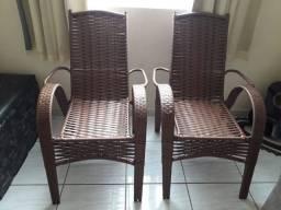 Cadeiras Fibra de Vidro = Melhor Preço de GV = Chama no Zap.