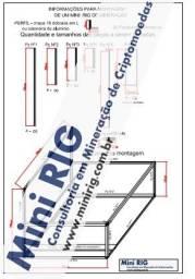Projeto para construção de RIG para Mineração de Criptomoedas p/ 6 ou 8 GPU
