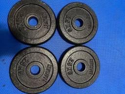 Anilhas de Ferro R$ 10