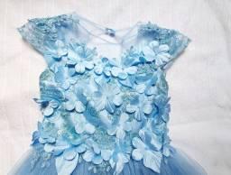 01 Vestido de Festa Infantil
