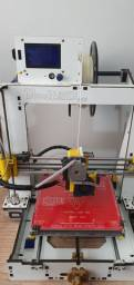 Impressora 3D com Upgrades e peças spare