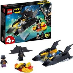 Lego Batman - Perseguição de Pinguim em Batbarco - 54 peças - 76158