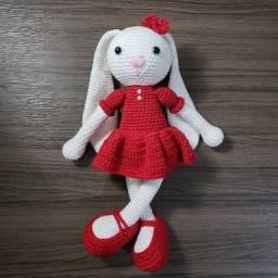 Amigurumi Coelha - Crochet