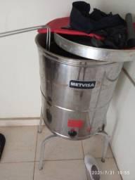 Fritadeira água e óleo 1300 semi nova pouco usada