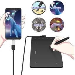 Mesa Digitalizadora para Android, windows e Mac... 20 pontas de troca USB OTG