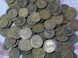 200 Moedas de Bronze-alumínio Abundância