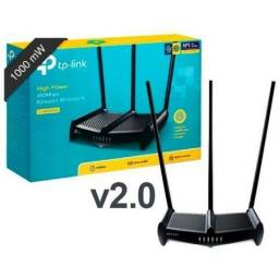 Rot. Wireless Quebra Parede Tl Wr 841hp 1000mw Ant 8dbi
