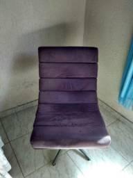 Cadeira Giratória Decorativa