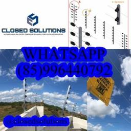 Cerca Elétrica 6 fios residencial industrial  a partir de R$20,00$ instalada