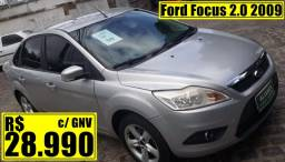Ford Focus 2.0 2009 + gás natural veicular