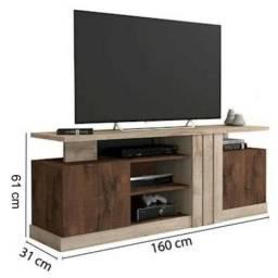 Título do anúncio: Rack para sala de estar 1.57 cm de largura NOVO (aceito picpay)
