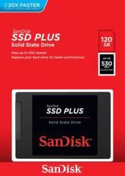 Hd SSD 120GB Novo Lacrado Com Garantia