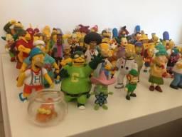 Coleção Completa Dos Simpsons - 72 Peças