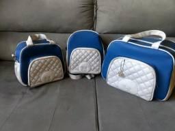 Kit Maternidade com 3 Bolsas
