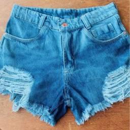 Short jeans detonado