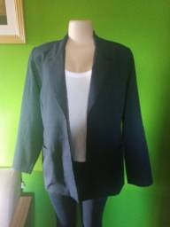 Título do anúncio: Blazer Feminino Azul - Tamanho G