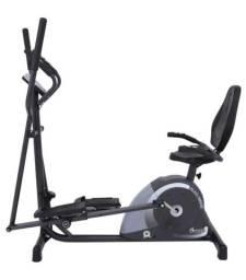 Elíptico e Bicicleta ergométrica - 2x1