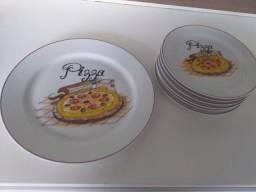 Conjunto Louça Pizza