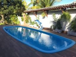 Casa com 2 terrenos de 450 m², total 900 m², área construida de 380 m², cond pé na areia!