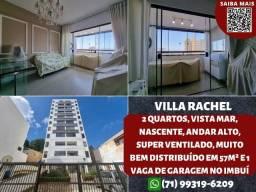 Villa Rachel, 2 quartos, nascente, vista mar, ventilado e 1 vaga no Imbuí - Maravilhoso