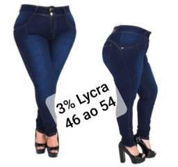 Calça Jeans Modeladora Plus Size 46 ao 54
