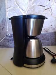 Cafeteiria elétrica Philco PH30 temp aço escovado
