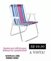 Cadeira de praia Alta 1 posição