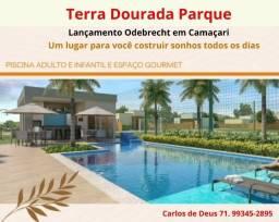 Lançamento da Odebrecht em Camaçari: Loteamento Terra Dourada Parque,  infraestrutura