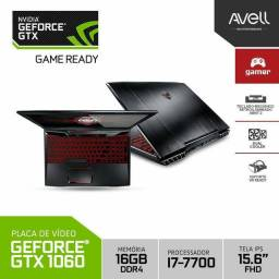 Notebook Gamer Avell G1555 Mx7