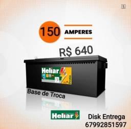 Bateria Caminhão Bateria Heliar 150 AH