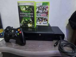 Xbox 360 bloqueado muito conservado