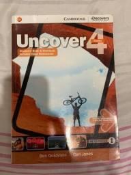 Título do anúncio: uncover 4 (combo) students book e workbook