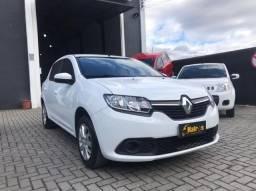 Renault Sandero Expression 1.0 2019 - Completo + Central Multimídia + GNV Legalizado!