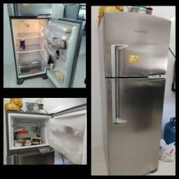 Geladeira Brastemp Clean Frost Free 352 L - Inox