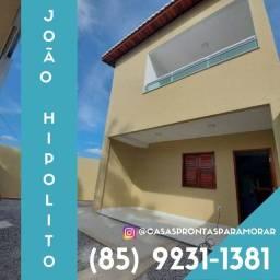 Majestosa casa duplex à venda em Barrocão/Itaitinga-CE