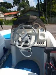 Vendo Barco Fishing 490 Plus - motor Mercury 90 apenas 128 hrs