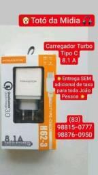 Carregador Turbo Tipo C
