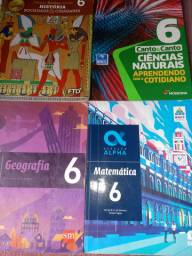 livros 6 ano Editoras: FTD,MODERNA,SM dicionario lingua portuguesa