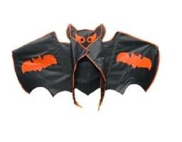 Brinquedo Pipa Morcego 1,3m+ Pegador E Linha 40 Metros