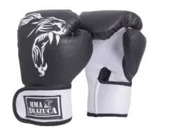 Luva De Boxe Muay Thai Mma Brazuca Masculino Preto Promoção