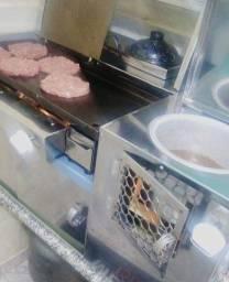 Título do anúncio: Chapa de hamburguer+ hot dog