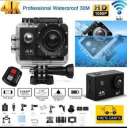 Câmera Filmadora Hd1080p Gravador Subaquática Ajustável Câmera De Ação Esport