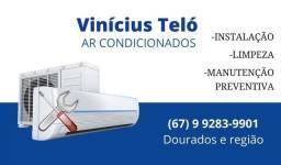 Ar condicionados instalação e manutenção