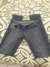 Calça jeans M Officer 44 super low