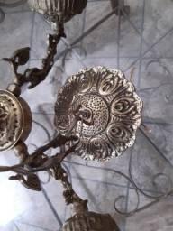 Lustre de teto em bronze