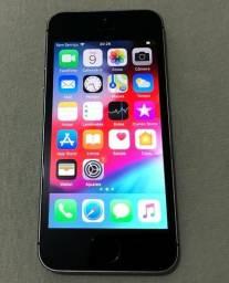 IPhone 5se cinza de 64GB na caixa completo em excelente estado