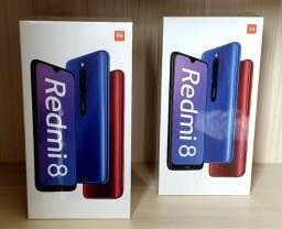 Redmi 8 4Gb Ram 64GB 4G Tela 6.22 5000Mah Bateria Global Dual Chip Pronta Entrega