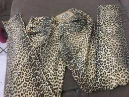 Vendo calça jeans onçinha N*38. Chapinha mondial