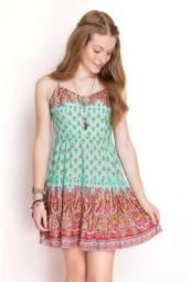 Vestido estampado marca dress to